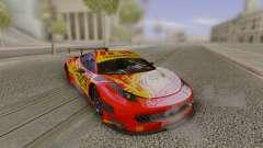 2014 Ferrari 458 Italia GT3 DTM pour GTA San Andreas