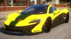 2014 McLaren P1 Harrods GTR pour GTA 4