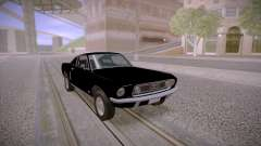 Ford Mustang GT Fastback 390 1968 pour GTA San Andreas