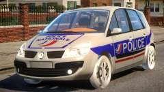 Renault Scenic II Police für GTA 4