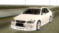 Toyota Altezza Stock