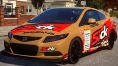 2013 Honda CivicSi PJ2 für GTA 4
