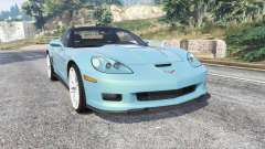 Chevrolet Corvette ZR1 (C6) 2008 v1.1 [replace] pour GTA 5