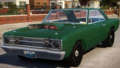 1968 Dodge Dart V1.2 pour GTA 4