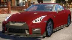 Nissan GTR Nismo 2017 für GTA 4