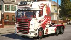 Scania R580 Longline Custom PJ15 pour GTA 4