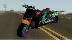 Far Concept Hyperbike Engine Ford v8 pour GTA San Andreas