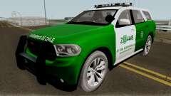 Dodge Durango Carabineros de Chile pour GTA San Andreas