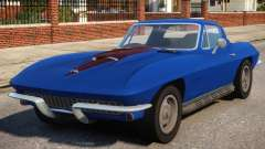 1967 Chevrolet Corvette Stingray V1.2 pour GTA 4