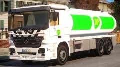 Mercedes-Benz BP Gas Fuel