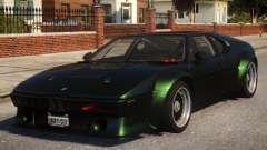BMW M1 pour GTA 4