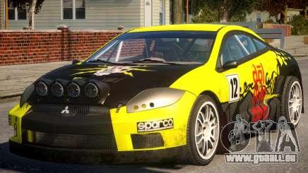 Mitsubishi Eclipse GT Drift für GTA 4