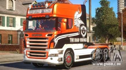 Scania R580 Longline Custom PJ17 pour GTA 4