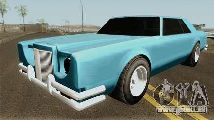 Dundreary Virgo The Car GTA V IVF für GTA San Andreas