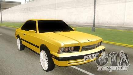 BMW 5-er E28 RUS Plates pour GTA San Andreas