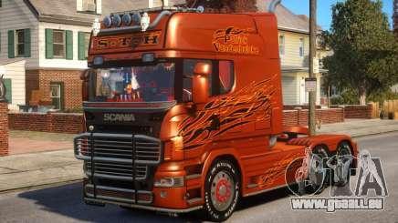 Scania R580 Longline Custom PJ12 pour GTA 4
