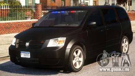 Dodge Caravan 2008 U.S Marshals pour GTA 4