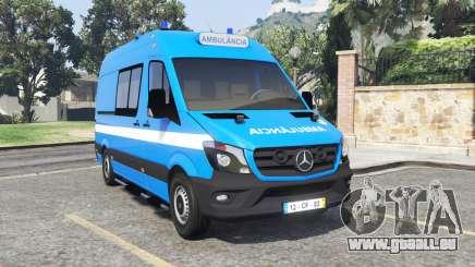 Mercedes-Benz Sprinter Ambulance [add-on] pour GTA 5