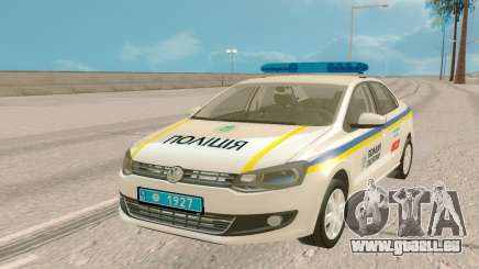 Volkswagen Polo (Ukraine) pour GTA San Andreas