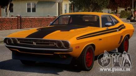Dodge Challenger 1971 PJ1 pour GTA 4