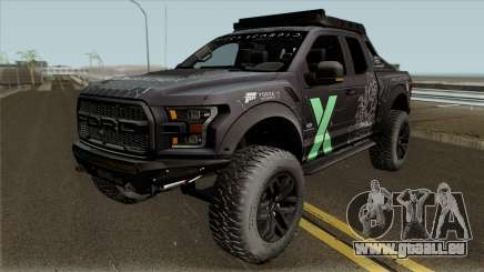 Ford F-150 Raptor Project Scorpio 2017 Paint pour GTA San Andreas