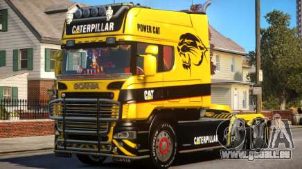 Scania R580 Longline Custom PJ14 pour GTA 4