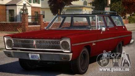 Plymouth Belvedere V1.1 pour GTA 4