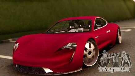 Porsche Mission E pour GTA San Andreas