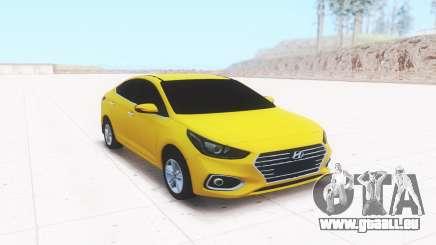 Hyundai Accent (Solaris) 2018 pour GTA San Andreas