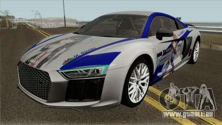 Audi R8 V10 Rin Shibuya für GTA San Andreas