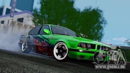 BMW E34 Evil Empire Team pour GTA San Andreas