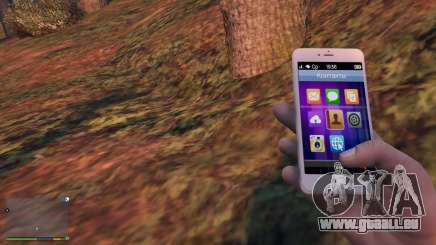 iPhone 6 Gold Michael pour GTA 5