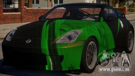 Nissan 350Z Underground PJ4 pour GTA 4
