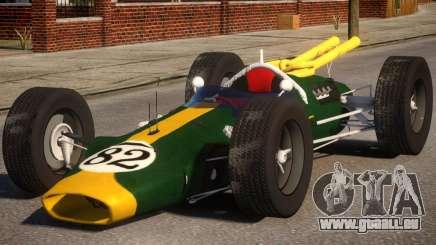 Lotus 38 PJ pour GTA 4