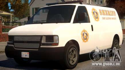 Los Santos Police Speedo Transporter [ELS] für GTA 4