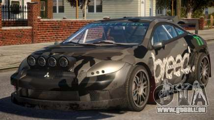 Mitsubishi Eclipse GT PJ3 für GTA 4