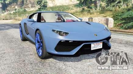 Lamborghini Asterion LPI 910-4 v1.1 [replace] pour GTA 5
