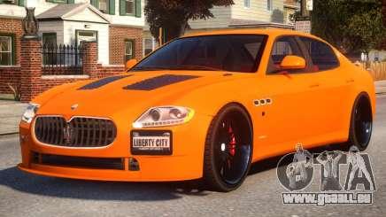 Maserati Quattroporte Sport GTS Tuned pour GTA 4