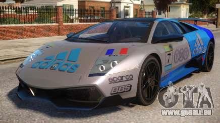 Lamborghini GT3 CUP Addidas Team pour GTA 4