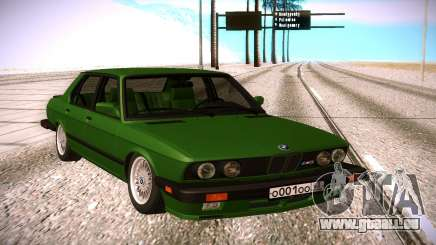 BMW 528E pour GTA San Andreas