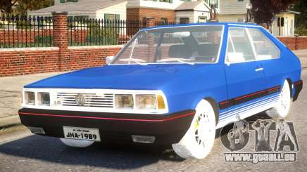 Volkswagen Passat Pointer GTS 1.8 1988 pour GTA 4