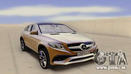 Mercedes-Benz GLE Rus Plate pour GTA San Andreas
