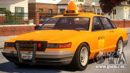 Taxi New York City für GTA 4