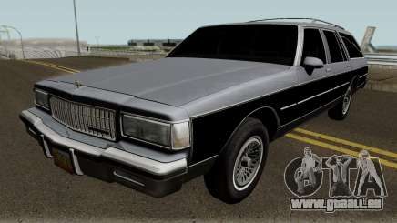 Chevrolet Caprice Hearse 1989 für GTA San Andreas