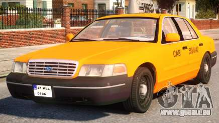 Ford Crown Victoria Taxi für GTA 4