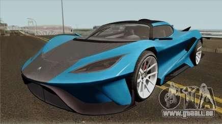 Overflod Tyrant GTA V IVF pour GTA San Andreas
