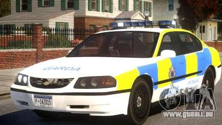 Chevrolet Impala Police pour GTA 4