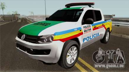 Volkswagen Amarok PMMG IVF pour GTA San Andreas