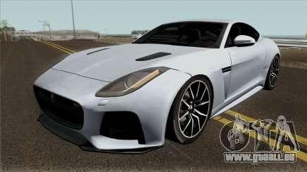 Jaguar F-Type SVR für GTA San Andreas