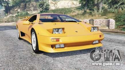 Lamborghini Diablo VT 1994 v1.5 [replace] pour GTA 5